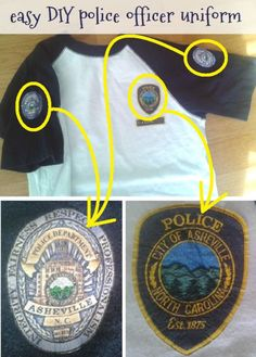 police officer t-shirts