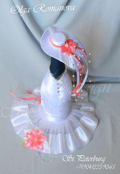 Gallery.ru / Фото #18 - Ах эта свадьба. - chocolatedesign Wine Bottle Gift, Wine Bottle Crafts, Bottle Art, Bottle Candles, Glass Bottles, Wedding Candy Table, Pallet Wedding, Decorated Wine Glasses, Wedding Bottles