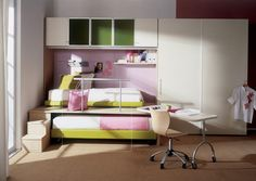 Small Bedroom Designs Kids Bedroom Interior Design For Small Rooms Space Saving Bedroom, Bedroom Decor For Small Rooms, Diy Room Decor For Teens, Master Bedroom Interior, Teen Room Decor, Diy Bedroom Decor, Home Decor, Bedroom Ideas, Modern Bedroom