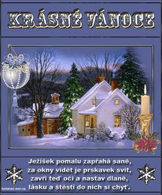 Veselé Vánoce Christmas Wishes, Christmas And New Year, Christmas Time, Ikebana, Advent, Diy And Crafts, Merry Christmas, Christmas Decorations, Santa