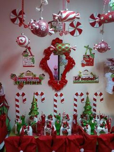 Christmas Party Decorations #christmas #decorations