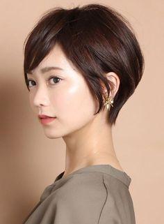 大人エアリーショート☆ひし形シルエット☆(髪型ショートヘア)