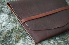iPad 3 case: Burgundy Leather by JWLeathersmith on Etsy, $55.00