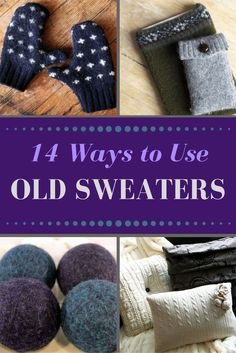 Before sending a bag of old sweaters to the thrift store, try repurposing them in creative new ways with one of these easy DIY crafts.