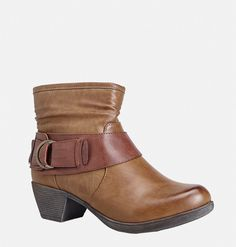 Shop beautiful new booties for fall in wide width sizes 7-13 like the Rina Wide Buckle Bootie available online at avenue.com. Avenue Store All About Shoes, Playing Dress Up, Low Heels, Plus Size Outfits, Me Too Shoes, Plus Size Fashion, Autumn Fashion, Ankle Boots, Footwear