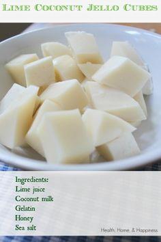 Lime Coconut Gummies Ingredients