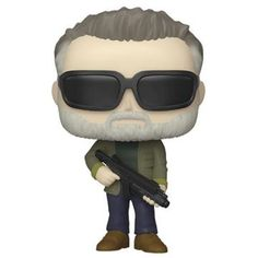 From Terminator Dark Fate , as a stylised POP vinyl from Funko. Figure stands and comes in a window display box. Check out the other Terminator Dark Fate figures from Funko & Collect them all. Funko Pop Toys, Funko Pop Vinyl, Chuck Norris, Pop Vinyl Figures, Arnold Schwarzenegger, T 800 Terminator, Hamilton, Christopher Robin Movie, Spiderman