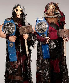 WWE Smackdown Tag Team Champions, The Bludgeon Brothers, Luke Harper and Erick Rowan