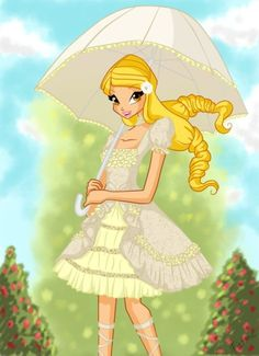 Winx club bloom season 5 wallpaper 3 places to visit stella in a white frock thecheapjerseys Image collections