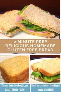 Easy and Delicious Gluten Free Bread that is made in a regular bread machine. No more bland, gritty, and crumbly store bought GF bread. You can now safely fill your gluten sensitive tummy with soft, sweet and fluffy bread. Great to use as buns too! Costs a couple dollars to make and requires NO mixing of different GF flours. Just 5 ingredients! Game changer. Celiac safe too. #mimiberrycreations #sandwichbread #breadmachine #glutenfree #glutenfreebread
