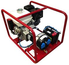 Poweri - Sähköaggregaatti 5001 H-S Honda - moottorilla Sähkökäynnisteinen 5 kVA / kW Honda, Vehicles, Car, Vehicle, Tools