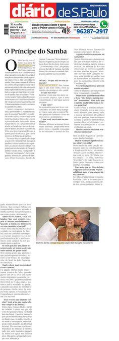 #DiogoNogueira 2015 #DiarioSP