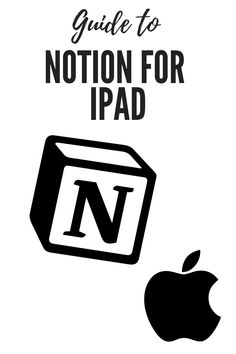 Want to use Notion on the iPad? This is the guide for you! This tutorial will teach you all the ins and outs of using Notion for iPad. #notion #ipad #guide #tutorial #apple #ios Productivity In The Workplace, Productivity Apps, Personal Development Skills, Aim In Life, Knowledge Worker, Ipad Hacks, Time Management Skills, How To Stop Procrastinating, Online Jobs