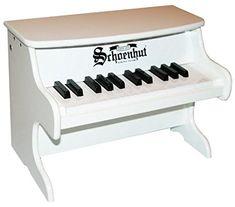 Amazon.com: Schoenhut 25-Key My First Piano II, Red: Toys & Games
