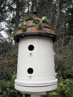 DIY : The Plant Pot Bird House