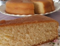 A light, fluffy and moist madeira cake that is gluten-free and low in saturated fat. Sweets Cake, Saturated Fat, Cornbread, Vanilla Cake, Cake Recipes, Birthdays, Gluten Free, Baking, Sin Gluten