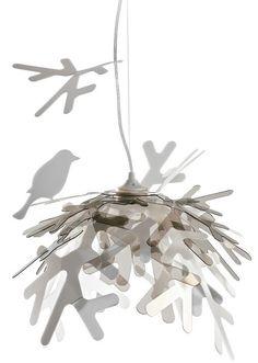 Shimmering nest design light. £204.99  http://www.worldstores.co.uk/p/Slamp_Lui_Gold_Ceiling_Pendant.htm