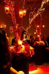 Centerpiece with lights again