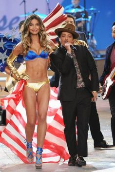 American Beauty, Lily, gets a little help from Bruno Mars.