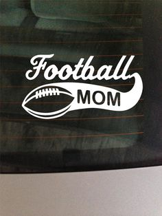 SportsBaseballFootballSoccerFamilyCarbyMelissaVinylDecals - Car window decal stickers sports