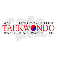 Tae Kwon Do Philosophy Ornament (Round) by mapagoda