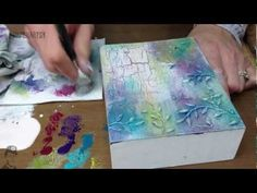 Fresco Texture Backgound with Crackle - YouTube
