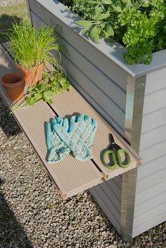 Hochbeet aus RELAZZO WPC-Terrassendielen