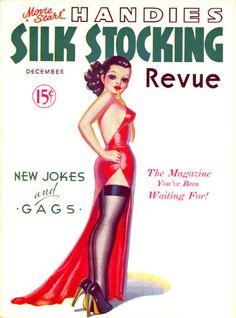 """""""Silk Stocking"""" magazine covers, 1936-1938"""