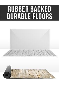 TSP110 Rubber Backed Duarable Floors Printed Trade Show - Backdrop Outlet - 1