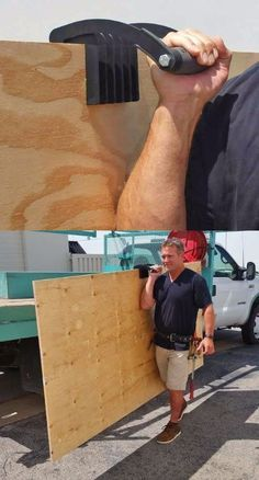 Gorilla Gripper Helps You Carry Large Pieces of Wood or Drywall