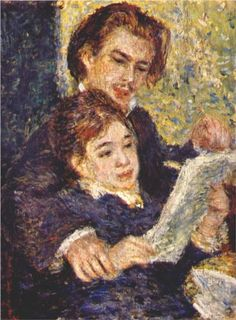 Georges riviere and margot - Pierre-Auguste Renoir