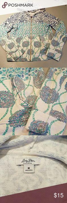 Lucky Brand Hoodie Good condition Lucky Brand Tops Sweatshirts & Hoodies