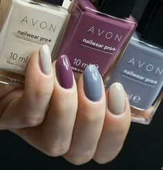 Las ame y también amo la colección de esmalte Avon