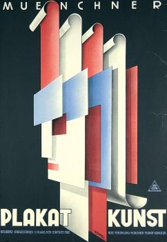 Poster art, Munich, 1931 - Artist : Hermann Keimel (1889 - 1948)   via Susanlenox