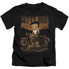 Boop/Rebel Rider Short Sleeve Juvenile T-Shirt in