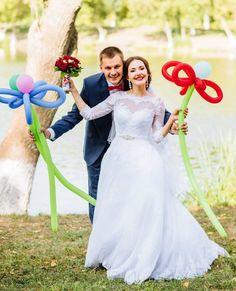 Приятно видеть счастливые лица наших невест!Ирина в платье LAVERNA #litebydominiss #DOMINISS #dominiss2016