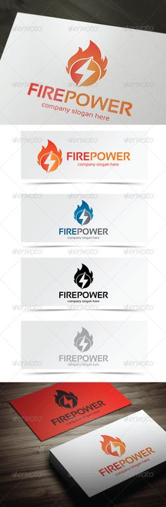 Fire Power - Symbols Logo Templates