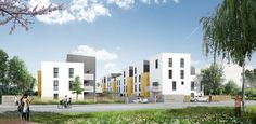 Hœnheim:   C'est en plein centre-ville que se situe cette résidence , à quelques pas des commerces et services de proximité et des transports en commun.   Référence : Calliandre SB103   #Hoenheim #IGPIMMOBILER