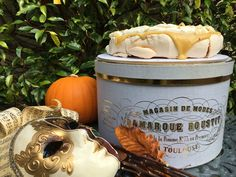 """Visit link above for my post """"It's just a load of Hocus Pocus!"""" – A spooky but sophisticated Halloween party. Hocus Pocus, Pavlova, Halloween Party, Link, Apple"""