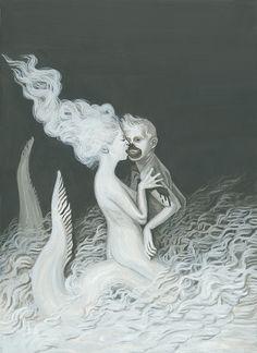 Mermaid by Aleksandra Waliszewska