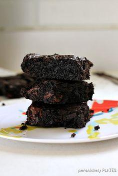 Coconut Oil Dark Chocolate Brownies