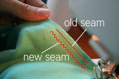 Pickup Some Creativity: Sewing 101 with Larissa, Basic Alterations