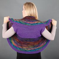 Color Whirl Vest - featured in Love of Knitting magazine's Best Summer Knits Issue, on sale May 13th. This is a fabulous compilation of some of our favorite summer patterns from our past issues.