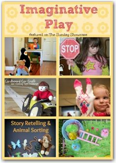 6 ideas for developing and inspiring imaginative play