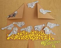 A bird feeder with sparrows - make kids crafts Sparrow Bird, Bird Crafts, Torn Paper, Quotes For Kids, Rustic Christmas, Bird Feeders, Crafts For Kids, Kindergarten, Projects To Try
