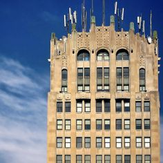 Jackson County Tower Building in Jackson, Michigan
