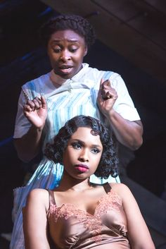 Cynthia Erivo, Jennifer Hudson; The Color Purple #Broadway