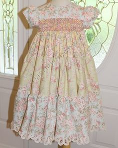 Love this shabby chic dress by Dandelion Avenue.