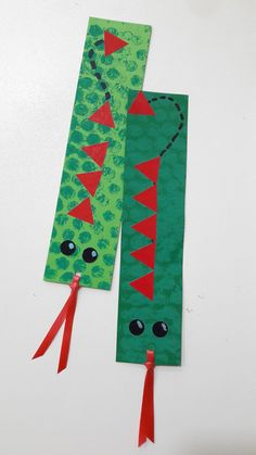Arts And Crafts, Paper Crafts, Diy Crafts, Origami Bookmark Corner, Cute Polymer Clay, Saint George, Christmas Crafts For Kids, Valentine Crafts, Diy For Kids