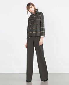 Image 1 de BLAZER EN LAINE de Zara
